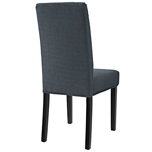 Modway Confer Dining Fabric Side Chair, Gray by Modway (Image #3)'