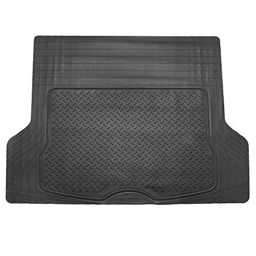Deluxe Carpet Vibe - FH Group F16402BLACK Cargo Mat (Deluxe Trim to Fit All Weather Black)