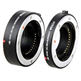 LIMME FOTGA NS Autofocus Electronic Extension Tube 10 + 16mm for Nikon NS Micro-camera And NS Mount Autofocus Lens - Black , For Electric