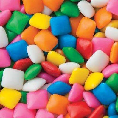 Dubble Bubble MINI Chiclet Gum 1lb