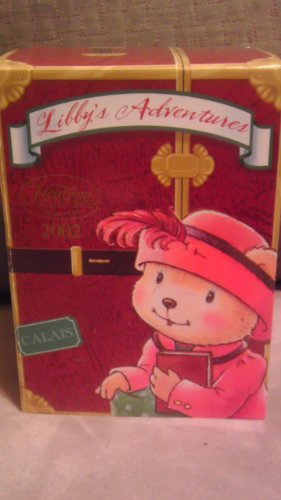 Carlton Cards 2002 Heirloom Collection Libby's Adventures Christmas Ornament and Pin