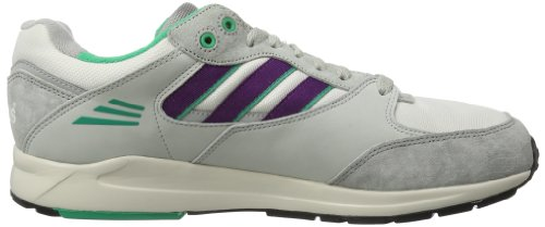 Adidas Originals Tech Super - Zapatillas deportivas hombre Running White Ftw / Tribe Purple S / Aluminum 14