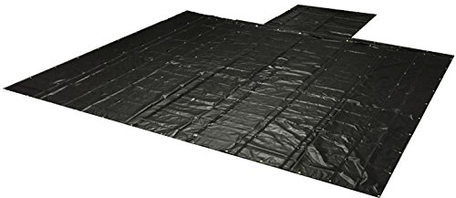 Lightweight 18oz/14oz Lumber Tarp 24x27 (8' Drop) - Black