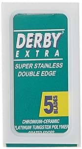 Derby Extra Double Edge Razor Blades, 100 Count