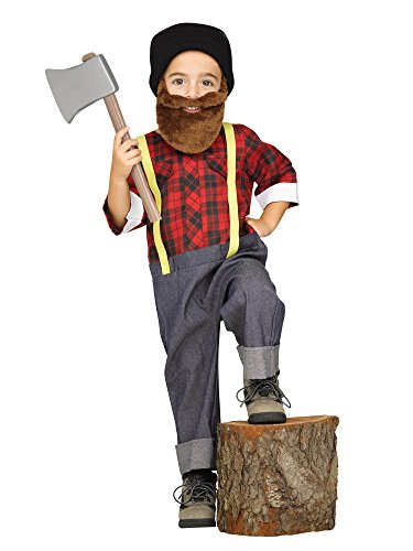 [Lil Lumberjack Woodsman Toddler Costume] (Costumes With Beards)