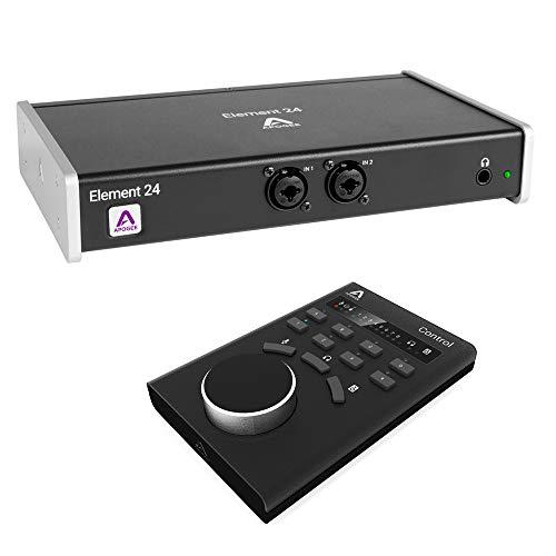 Apogee Electronics Element 24 10x12 Thunderbolt Audio I/O Box with Apogee Control Hardware Remote Bundle