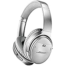 Bose QuietComfort 35 Wireless Headphones II - Stereo - Silver - Wired/Wireless - Bluetooth - 29.5 ft - Over-the-head - Binaural - Circumaural - 3.93 ft Cable - Noise (Certified Refurbished)