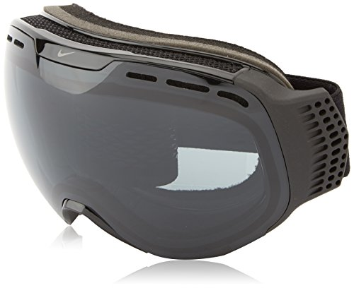 Nike Command Goggles, Black/Black Frame, Dark Smoke + Yellow Red Ion - Goggles Nike Ski