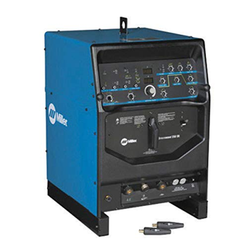 Miller Syncrowave 250 DX TIG Welder, 230/460/575 Volt With Power Source And 2 Dinse Connectors, Package Size: 1 Each