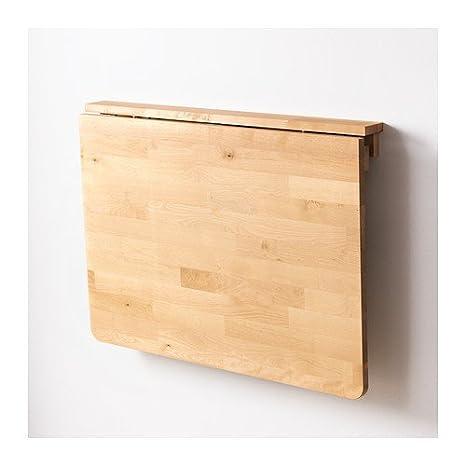 Ikea NORBO Pared Plegable de Madera Maciza de Abedul; (79 x 59 cm ...