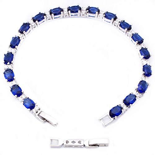 Diamond Jewelry Celebrity - RIZILIA 18K White Gold Plated Bracelet Extender Clasp Extension 1.2inch NO Bracelet