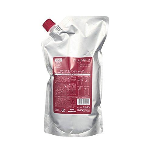 밀본(MILBON) 프라미아 인리치드 샴푸 (1000ml팩) 리필용