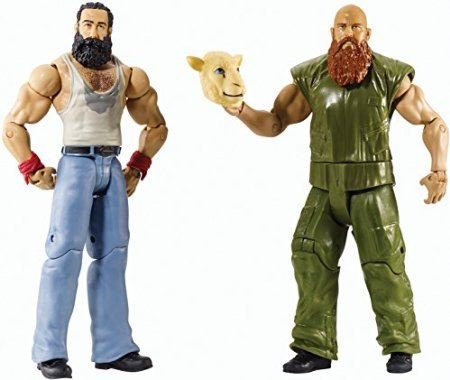 WWE Battle Pack Series #31 - Erick Rowan vs. Luke Harper with Lamb Mask Figure Two-Pack