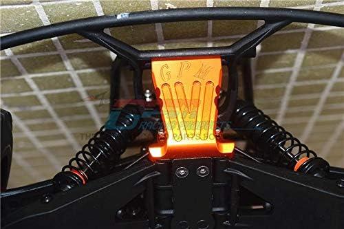 GPM Losi 1//10 Baja Rey 4WD Desert Truck Upgrade Pi/èces Aluminium Front Bumper Mount LOS03008 1 Set Black