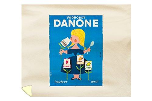 danone-vintage-poster-artist-gauthier-france-c-1955-88x104-king-microfiber-duvet-cover
