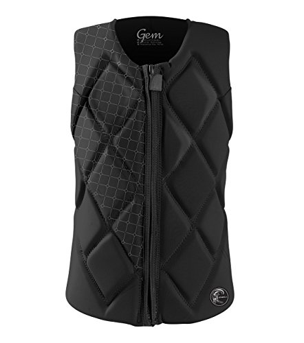 O'Neill Women's Gem Comp Life Vest, Black, 12 ()