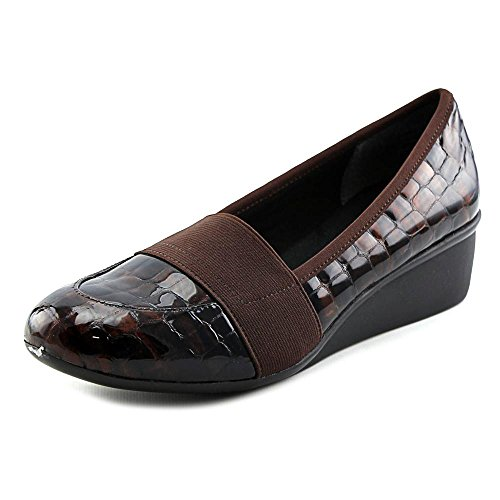 (Ros Hommerson Erica Women US 11 SS Brown Wedge Heel)