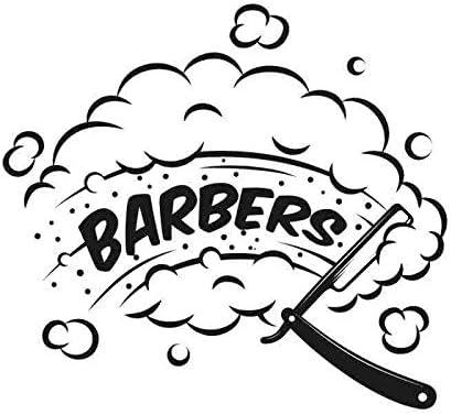 Hombre de peluquería pegatina personalizada Chop pan calcomanía ...