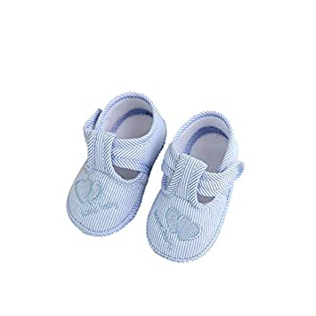 Cute Toddler Baby Kids Girls Tod Shoes Sneaker Anti-Slip Soft Sole Crib Shoes