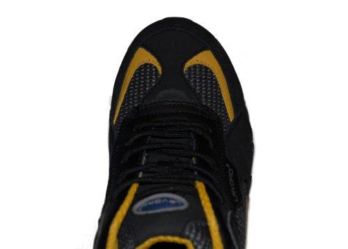Lavoro - Calzado de protección de cuero para hombre negro Black/yellow