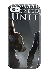 ULLHvwb2323jtrKu Case Cover Protector For Iphone 4/4s Assassins Creed Unity Case