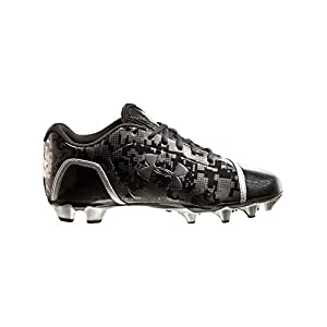 Under Armour Men's UA Blur Phantom Low MC Football Cleats 7 Black
