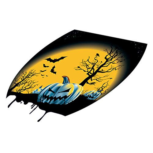 MOKO-PP Hallowmas Toilet Seat Wall Sticker Decals Vinyl Art Wallpaper Removable Decor(F)
