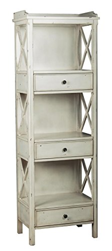 Rustic Bookcase Cabinet (Pulaski Lawrence Bookcase, 22 by 67 by 14-Inch,)