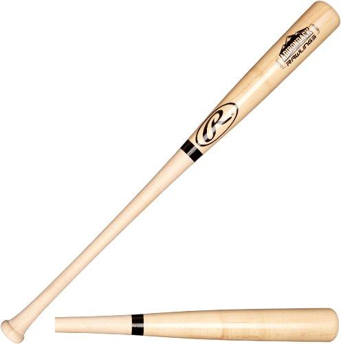 Rawlings Wood Baseball Bat (Rawlings ADR Maple Baseball Bat, 33-Inch)