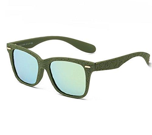 ZWX Gafas de sol polarizadas/Gafas de colores/UV-cool gafas-E