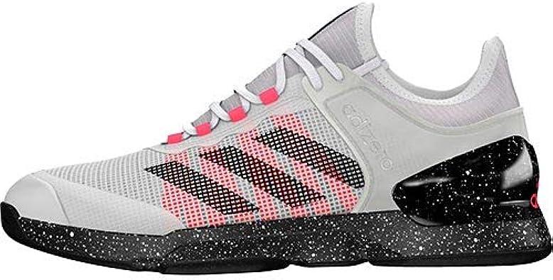 pasión traqueteo apuntalar  Amazon.com | adidas Adizero Ubersonic 2 Tennis Shoes - AW20-7.5 - Ftwbla  Negbás Rossen | Tennis & Racquet Sports