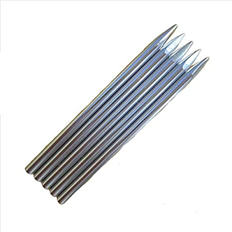 Stitching Needles Lacing 3 1//2 550 Type III Aluminim Paracord FID 2 Pack Black