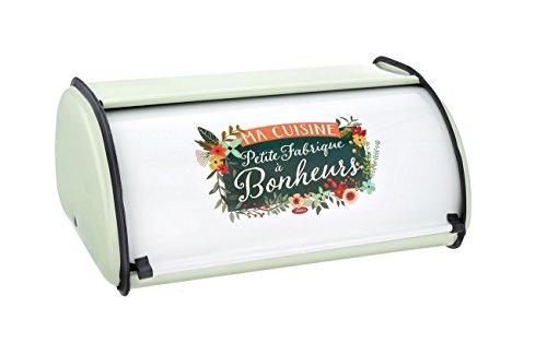 Rétro Ma Petite Fabrique à Bonheur bread box