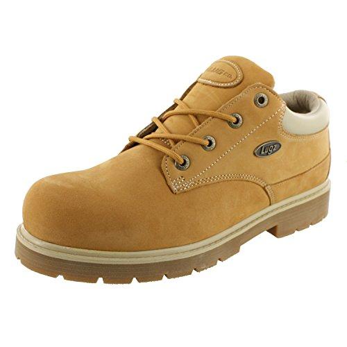 Lugz Classic Drifter Lo Work Boots 8 D, Cream/Wheat/Gum