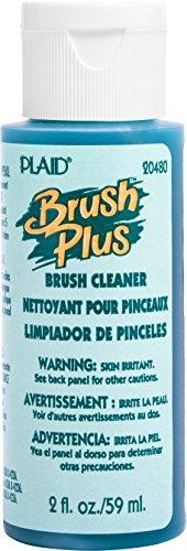 Plaid Enterprises, Inc. 20480 Brush Plus Cleaner, 2 ounce