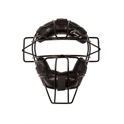 Champion Sports Extended Throat Guard Adult Catcher's Mask, Black