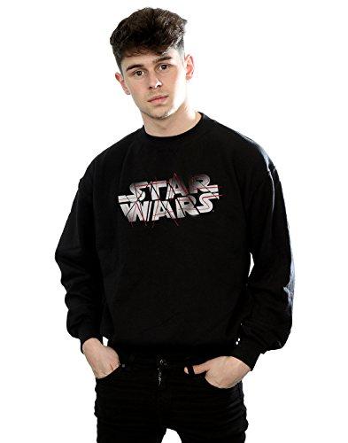 Wars Jedi Spray Entrenamiento The Negro Star Last De Logo Hombre Camisa wI7dRq