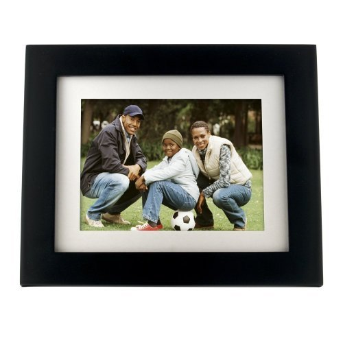 Pandigital PAN8004W01C 8-Inch LCD Digital Picture Frame Black 2GB Memory by PanDigital