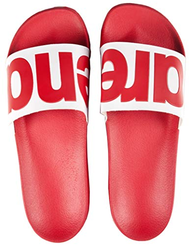 Unisex Slide Urban Arena Ad Sandals Badeschuhe 2019 Red wxI5RTf