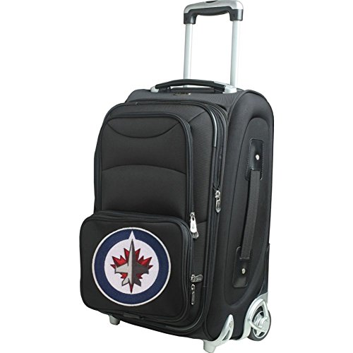 picture of NHL Winnipeg Jets In-Line Skate Wheel Carry-On Luggage, 21-Inch, Black