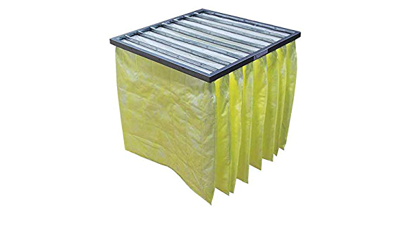 Pocket Air Filter,Synthetic,24x24x22In.