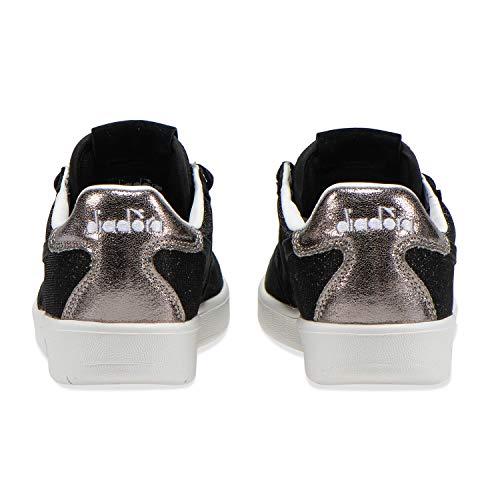 Diadora Premium Black Wn B Elite Sneakers Per 80013 Donna HrqHaSw6x