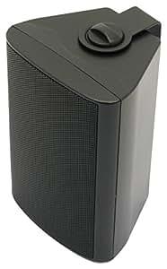 Visaton VS-WB10B - Altavoces (Universal, De 2 vías, Montar en la pared, 40W, 60W, 100 - 20000 Hz) Negro