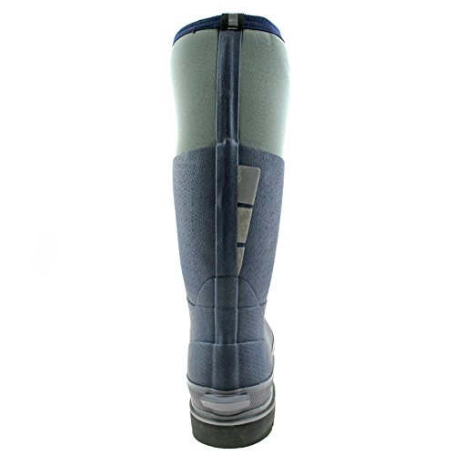 DICKIES DICKIES DICKIES 11 11 11 11 SAFETY 45 PRO REFLECTIVE BOOTS NEOPRENE NAVY FW9902 WELLIES LANDMASTER GREY UK EU SHSwPTrOBq