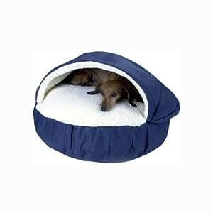 Amazon.com : Snoozer Cozy Cave, Small, Royal Blue : Pet