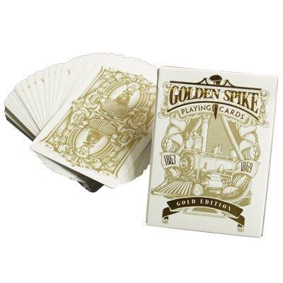 Limited (Gold Edition) 1st Run Golden Spike Deck by Jody Eklund - Trick