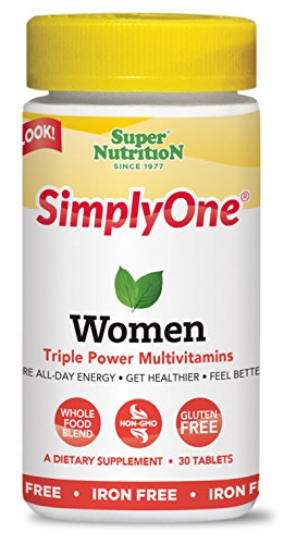 SuperNutirtion SimplyOne Women's Multivitamin