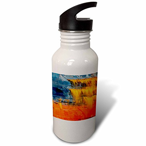 3dRose Danita Delimont - Abstracts - Abstract of the Rusted hull on freighter ship, Vancouver, B.C., Canada - Flip Straw 21oz Water Bottle (wb_277209_2)