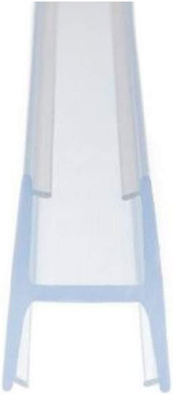 Junta Cortina de Cristal 10MM y 8 MM Universal. Modelo Premium con Forma de