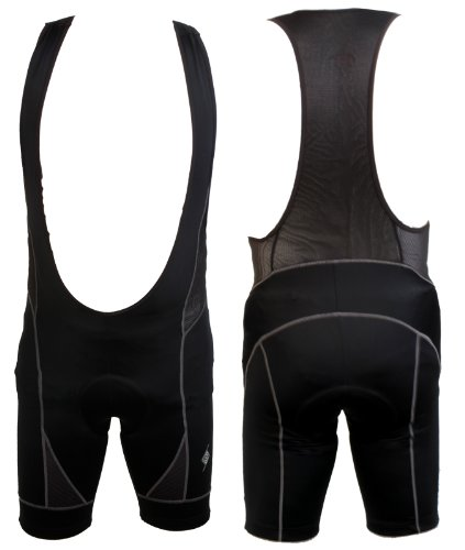 - Origin8 Techsport Cycling Bib Short, XL, Black